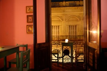 Casarão onde funciona a Galeria/Residencia/Bar Planta Alta