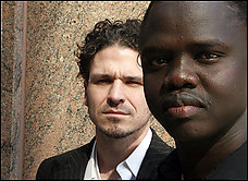 Dave Eggers e Valentino Achak Deng