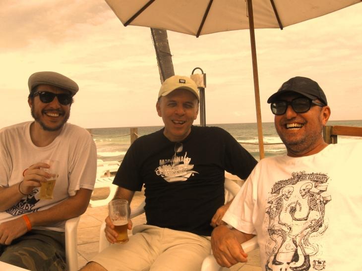 Yo, Renato L, Xico. Puerto de Gallinas, 2008