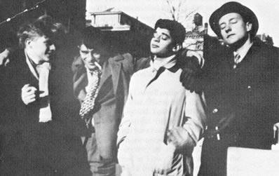 Carr, Kerouac, Ginsberg, Burroughs