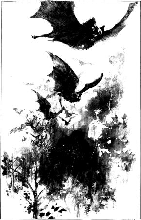 Exploding bats!