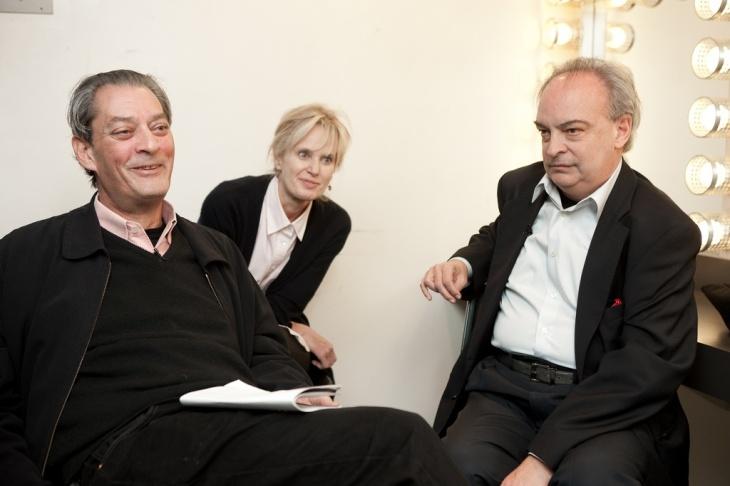 Paul Auster, Siri Hustvedt, Vila-Matas