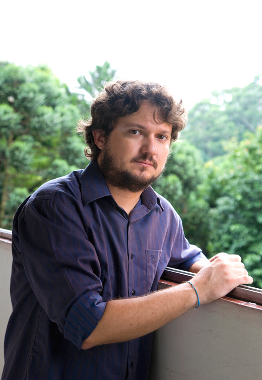 "Fabrício Corsaletti a/k/a The Eskimo no clique de Renato ""Ética"" Parada"