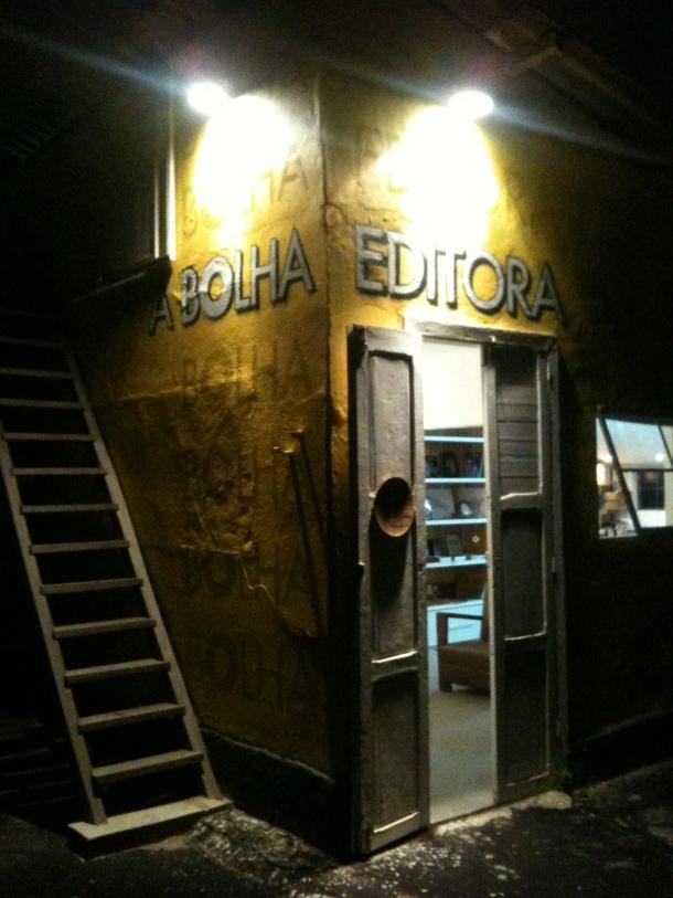 Apagar das luzes para a editora/livraria mais bacana do Rio?