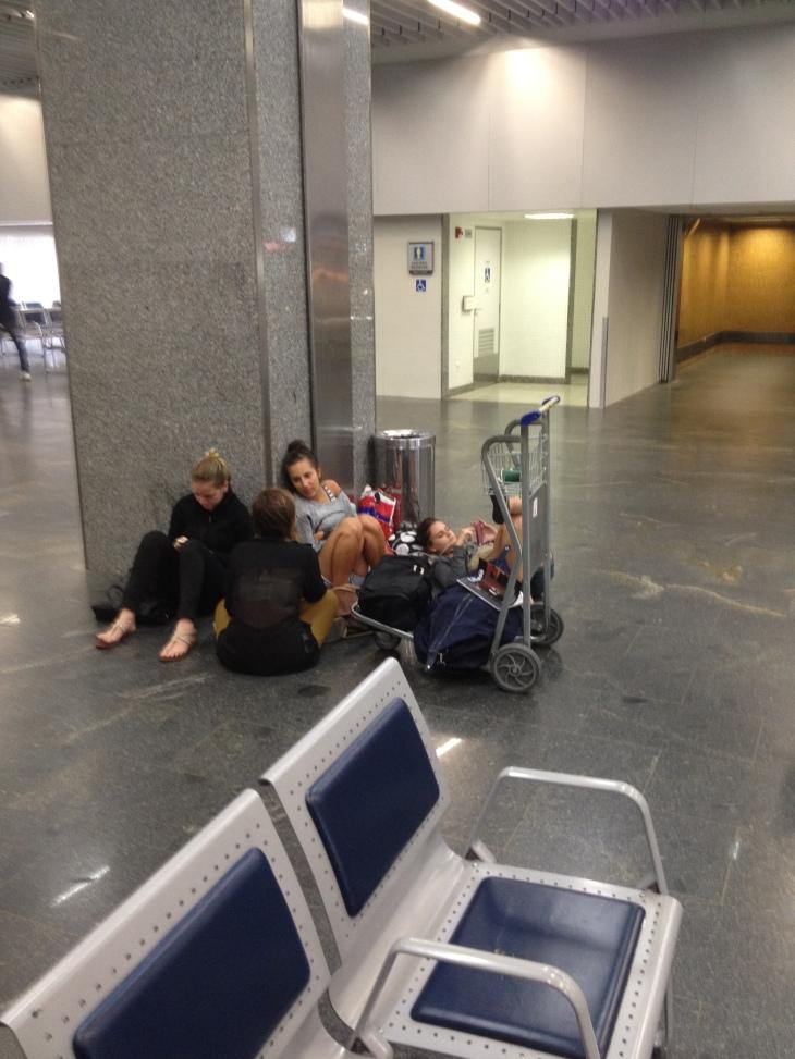 Assim o Rio trata seus turistas: sem wifi nem tomadas