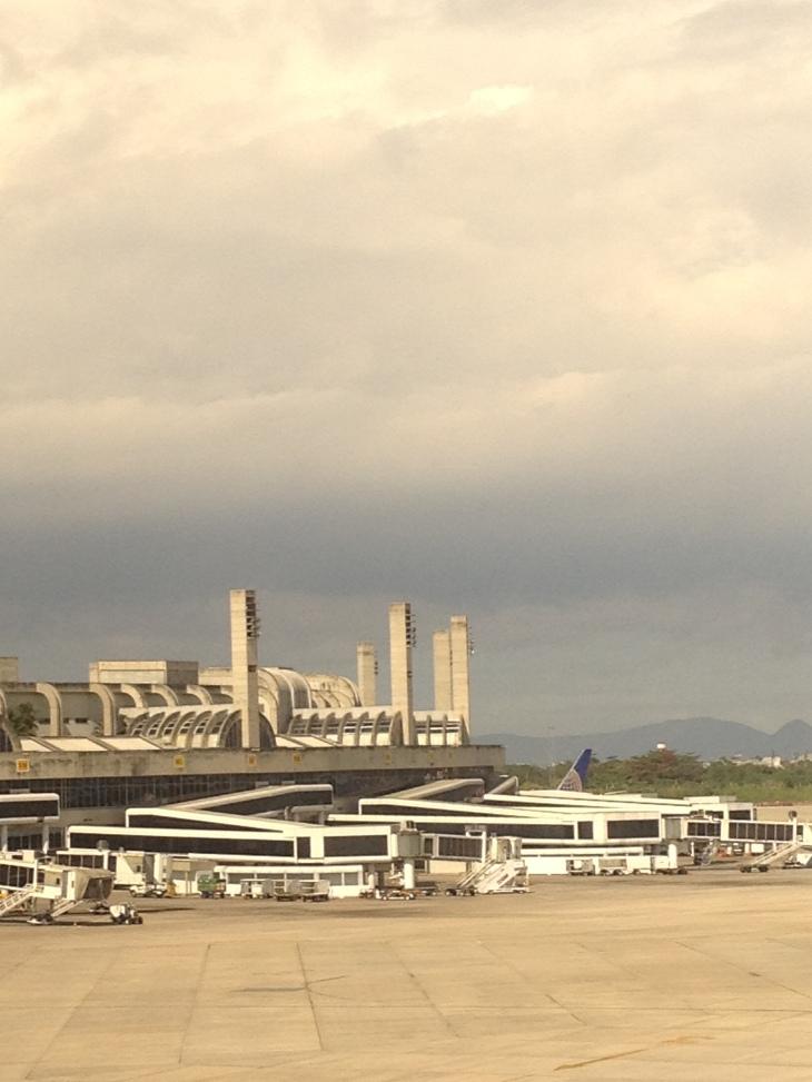 Terminal 1 visto de fora