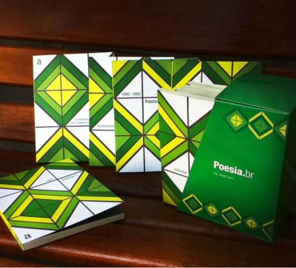 Verde-amarelismo no projeto gráfico simples e eficiente de Tiago Gonçalves