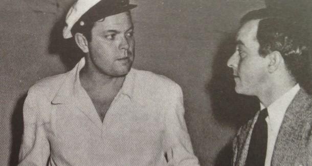 Jazz, cinema, jornalismo, garotas? Nunca saberemos sobre o que falavam Orson Welles e Vinicius