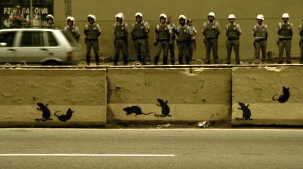 "Foto de Antonio Brasiliano, ""censurada"" pela polícia"
