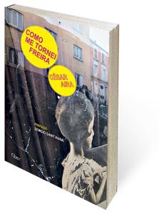 O pop projeto gráfico da coleção Otra Língua é de Joca Reiners Terron sobre as inquietantes imagens de sua esposa, Isabel Santana Terron