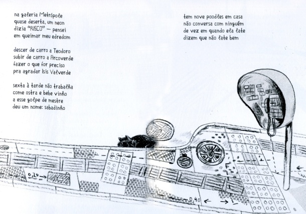 Bem-sacada, a edição tem design e ilustrações de Andrés Sandoval
