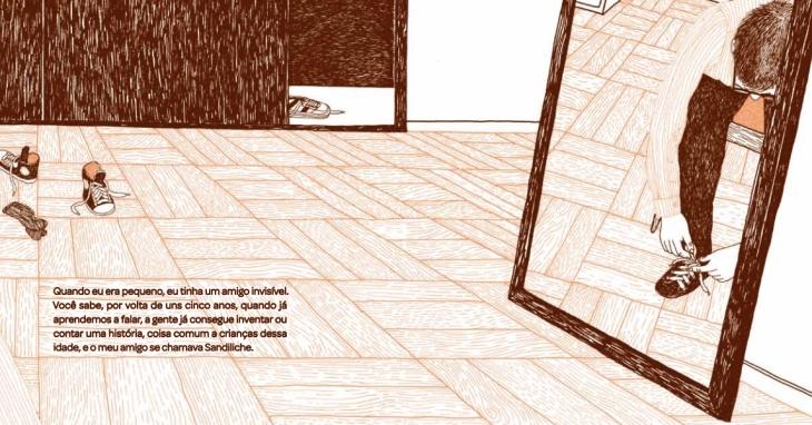 As ilustrações de Sandiliche são da genial Powerpaola