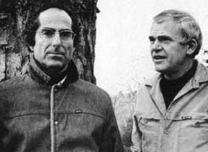 Kundera com Philip Roth
