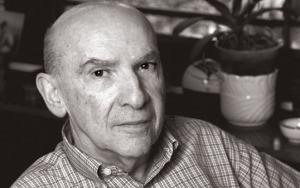 Boris Fausto, historiador, em sua casa em SP. SP15.02.06 foto:© BEL PEDROSA