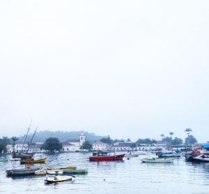 Paraty vista do bairro Ilha das Cobras