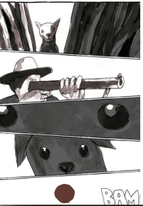 A morte da cadela Baleia, no traço matador de Guazzelli