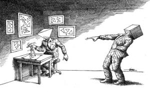 bullying no Irã é pior que um pesadelo de Kafka